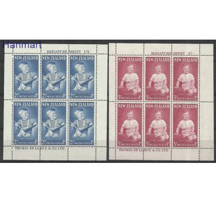 Nowa Zelandia 1963 Mi ark425-426 Z podlepką *