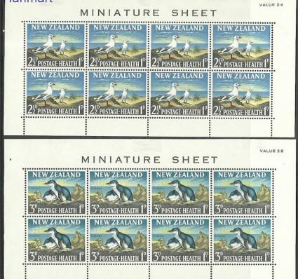 Znaczek Nowa Zelandia 1964 Mi ark433-434 Z podlepką *