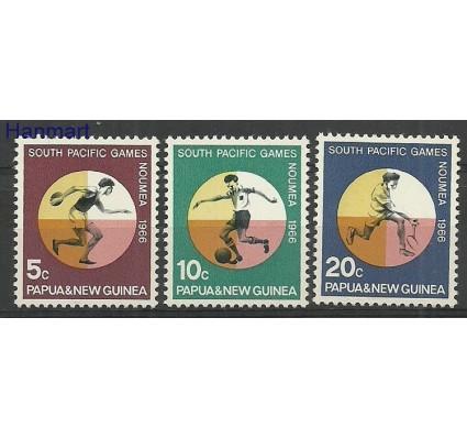 Znaczek Papua Nowa Gwinea 1966 Mi 99-101 Z podlepką *