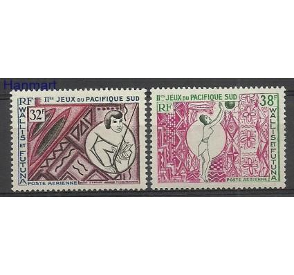 Znaczek Wallis et Futuna 1966 Mi 214-215 Z podlepką *