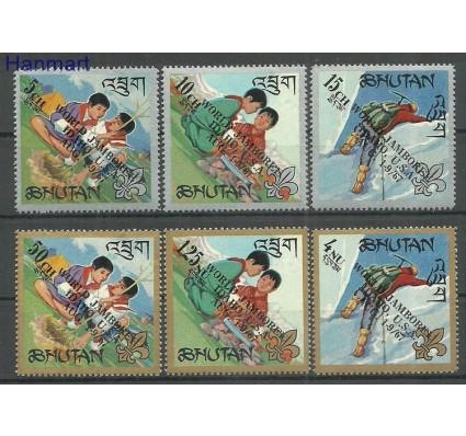 Znaczek Bhutan 1967 Mi 155-160 Z podlepką *