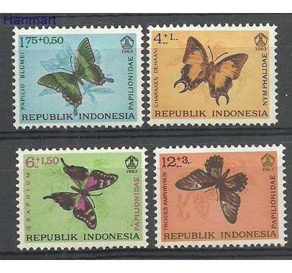 Znaczek Indonezja 1963 Mi 421-424 Z podlepką *