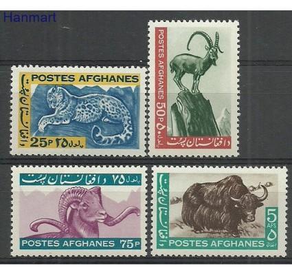 Znaczek Afganistan 1964 Mi 915-918 Z podlepką *