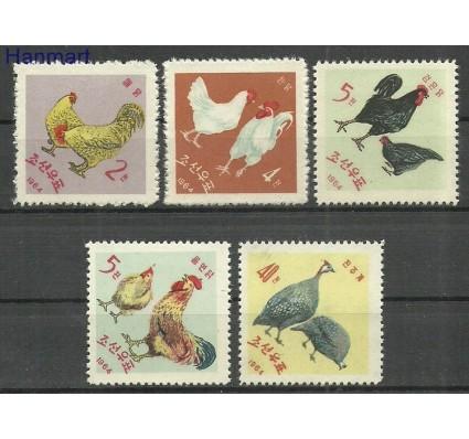 Znaczek Korea Północna 1964 Mi 530-534 Z podlepką *