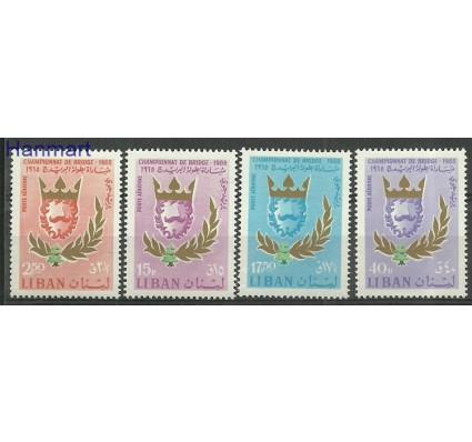 Znaczek Liban 1965 Mi 930-933 Z podlepką *