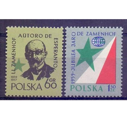 Znaczek Polska 1959 Mi 1111-1112 Fi 967-968 Czyste **