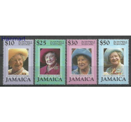 Znaczek Jamajka 2000 Mi 958-961 Czyste **
