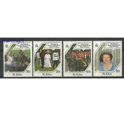 Znaczek Saint Kitts 1986 Mi 172-175 Czyste **