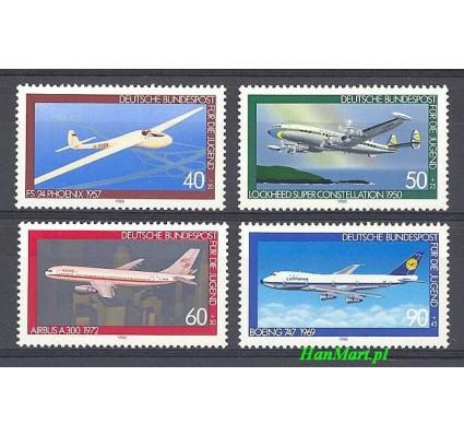 Niemcy 1980 Mi 1040-1043 Czyste **