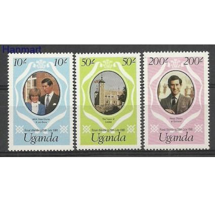 Znaczek Uganda 1981 Mi 302-304A Czyste **