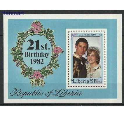 Znaczek Liberia 1982 Mi bl101 Czyste **
