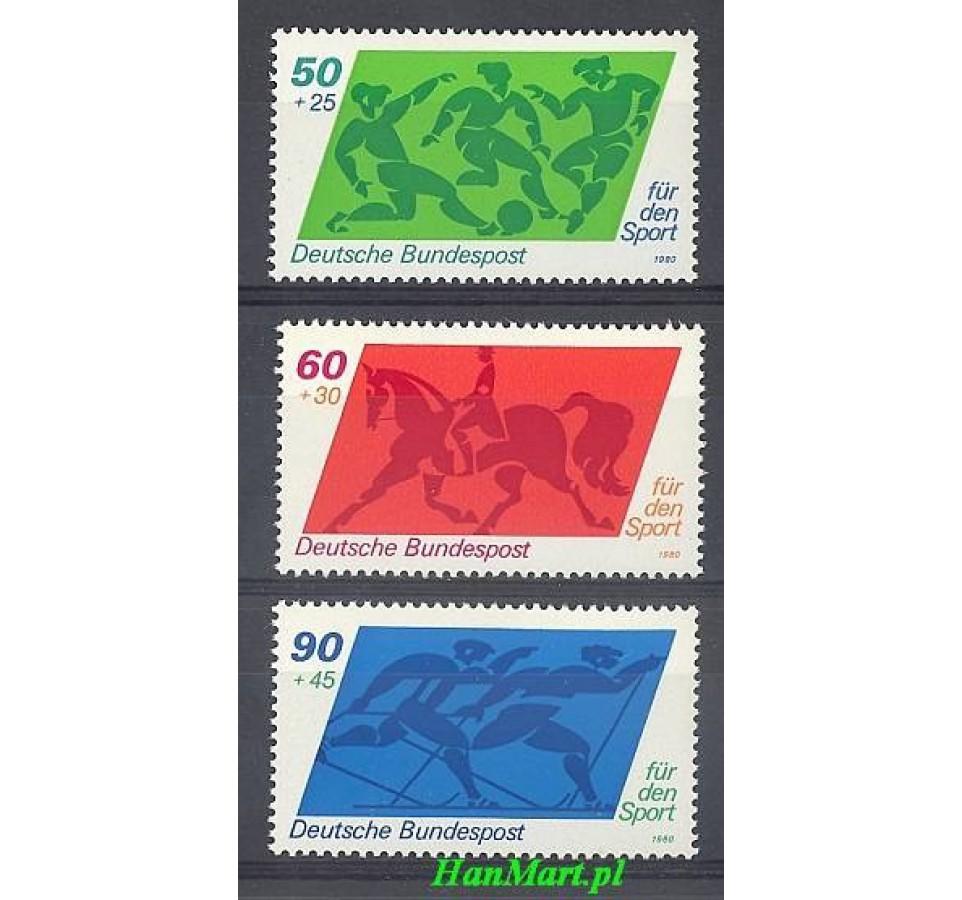 Niemcy 1980 Mi 1046-1048 Czyste **