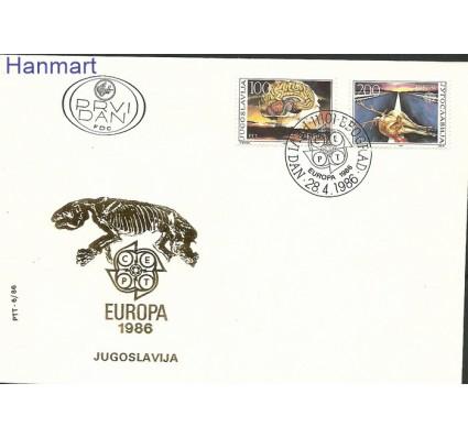 Znaczek Jugosławia 1986 Mi 2156-2157 FDC
