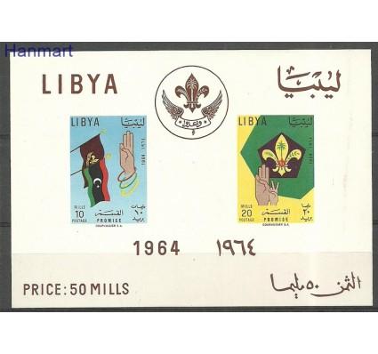 Znaczek Libia 1964 Mi bl7 Z podlepką *