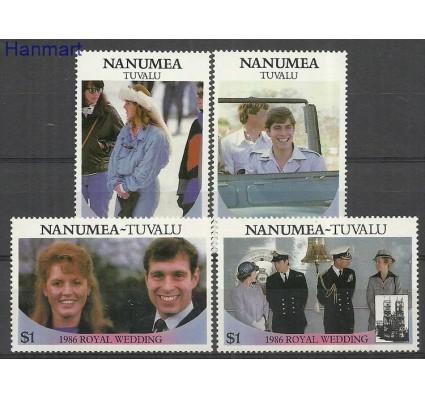 Znaczek Tuvalu 1986 Mi 89-92nae Czyste **