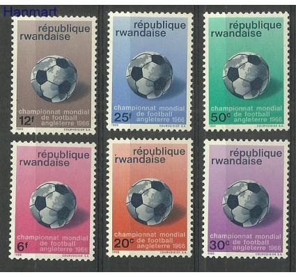 Znaczek Rwanda 1966 Mi 183-188 Z podlepką *