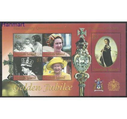 Znaczek Norfolk 2002 Mi bl41 Czyste **