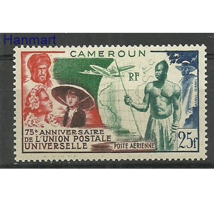 Znaczek Kamerun 1949 Mi 300 Z podlepką *