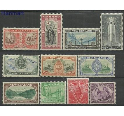Znaczek Nowa Zelandia 1946 Mi 282-292 Czyste **