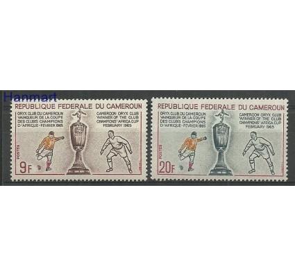 Znaczek Kamerun 1965 Mi 433-434 Z podlepką *