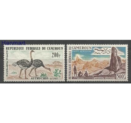 Znaczek Kamerun 1962 Mi 372-373 Z podlepką *