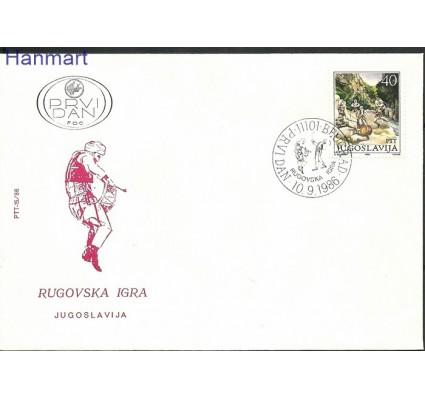 Znaczek Jugosławia 1986 Mi 2189 FDC