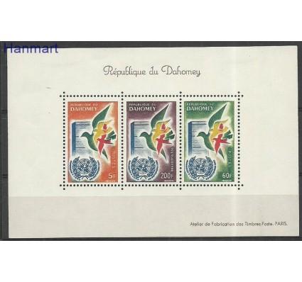 Znaczek Dahomej 1961 Mi bl2 Z podlepką *