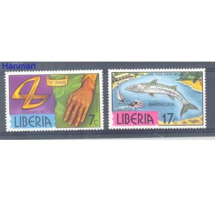 Znaczek Liberia 1981 Mi 1202-1203 Czyste **