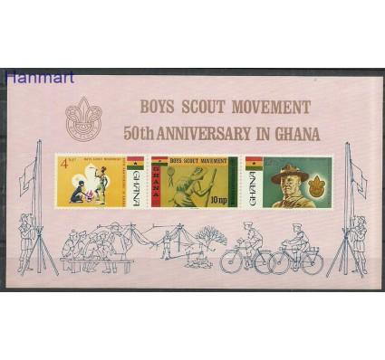 Znaczek Ghana 1967 Mi bl27 Z podlepką *