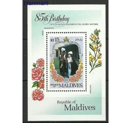 Znaczek Malediwy 1985 Mi bl108 Czyste **