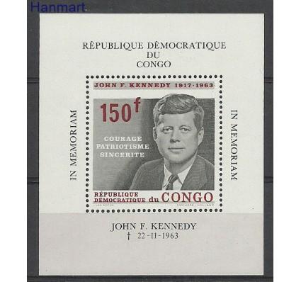 Kongo Kinszasa / Zair 1964 Mi bl6 Z podlepką *