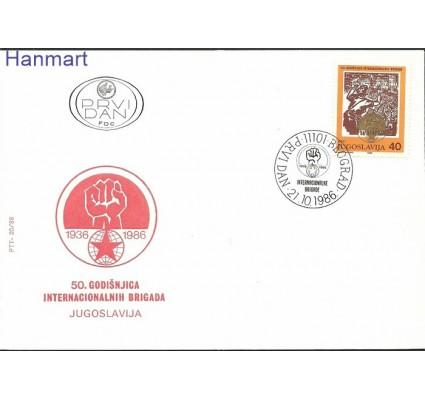Jugosławia 1986 Mi 2198 FDC
