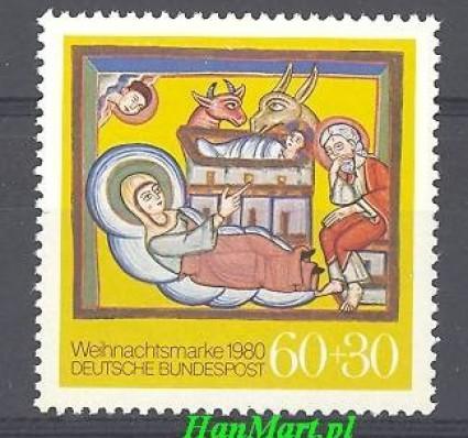 Niemcy 1980 Mi 1066 Czyste **