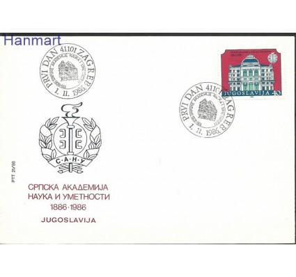 Znaczek Jugosławia 1986 Mi 2199 FDC