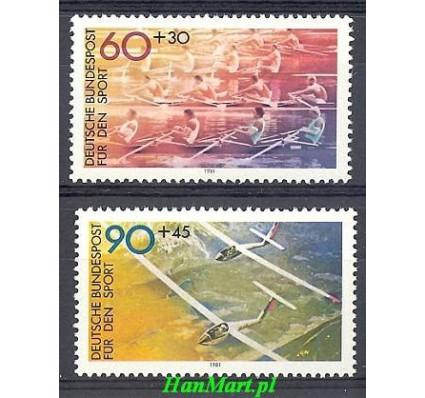 Znaczek Niemcy 1981 Mi 1094-1095 Czyste **