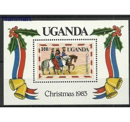 Znaczek Uganda 1983 Mi bl44 Czyste **