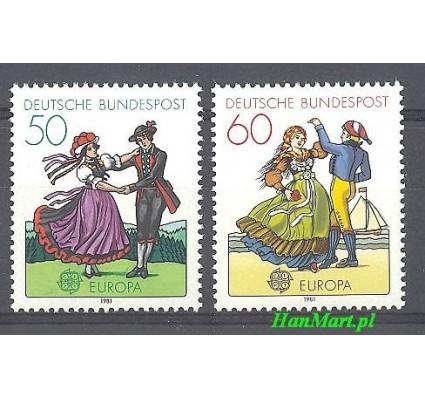 Niemcy 1981 Mi 1096-1097 Czyste **