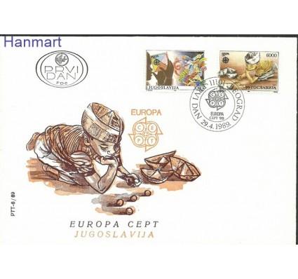 Znaczek Jugosławia 1989 Mi 2340-2341 FDC