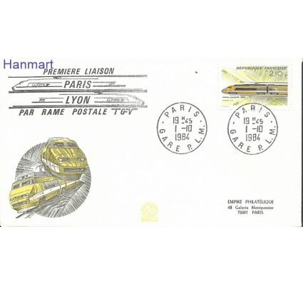 Francja 1984 Mi 2460 FDC