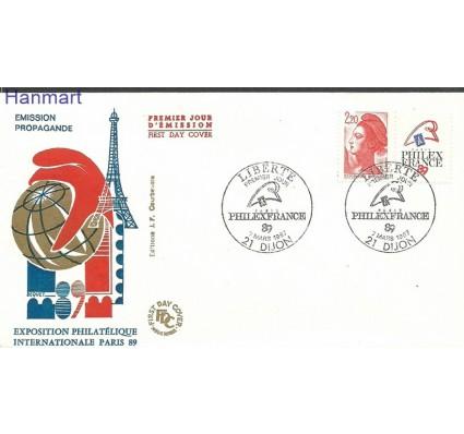 Znaczek Francja 1985 Mi 2510b FDC