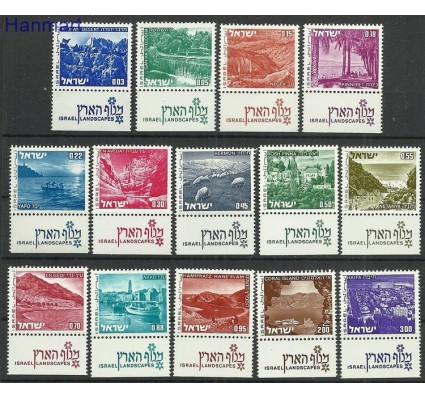 Znaczek Izrael 1971 Mi 524-537x Czyste **