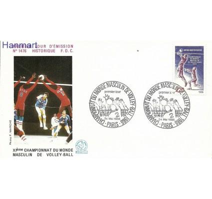 Znaczek Francja 1986 Mi 2550a FDC