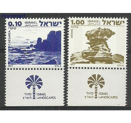 Izrael 1977 Mi 719-720x Czyste **