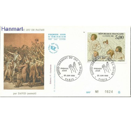 Francja 1989 Mi 2723 FDC