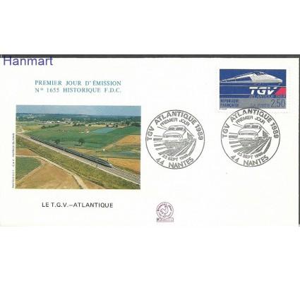 Znaczek Francja 1989 Mi 2743b FDC