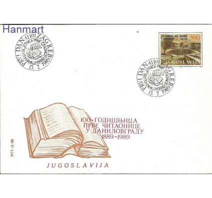 Jugosławia 1989 Mi 2358 FDC