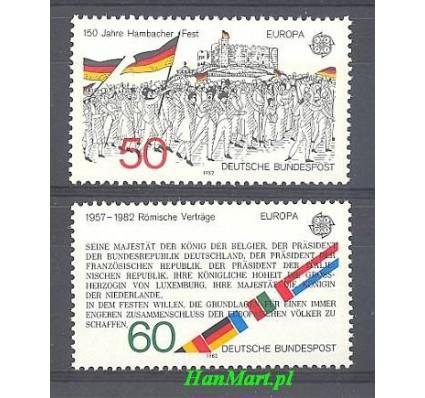 Niemcy 1982 Mi 1130-1131 Czyste **