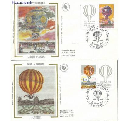 Znaczek Francja 1983 Mi Szf2387-2388 FDC