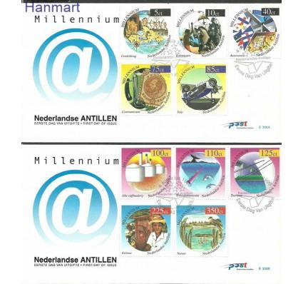 Znaczek Antyle Holenderskie 1999 Mi 1006-1015 FDC