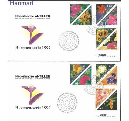 Antyle Holenderskie 1999 Mi 1036-1047 FDC